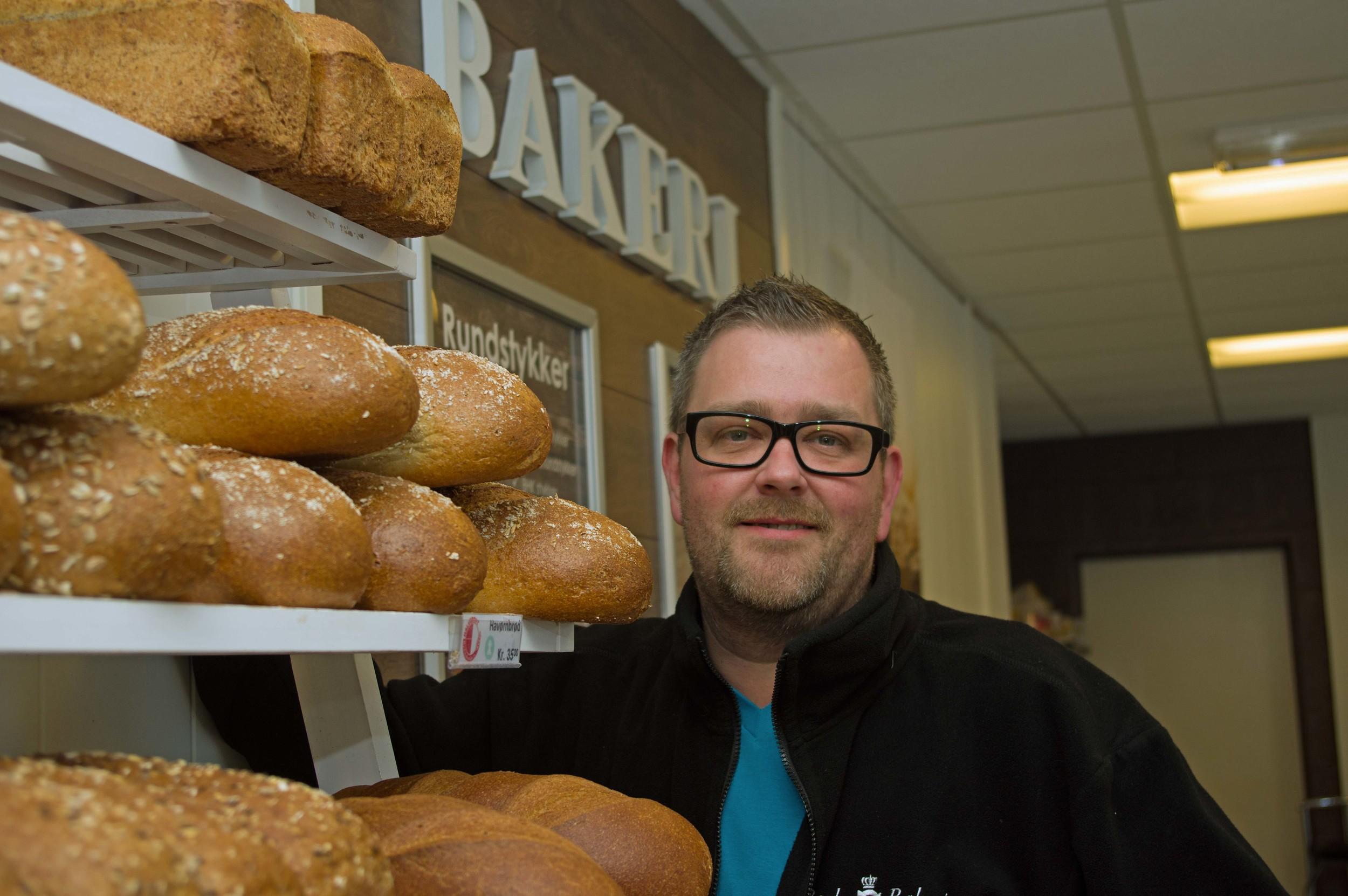 Bjarne Mosås forsyner Bodø og Fauske med lokale brød.