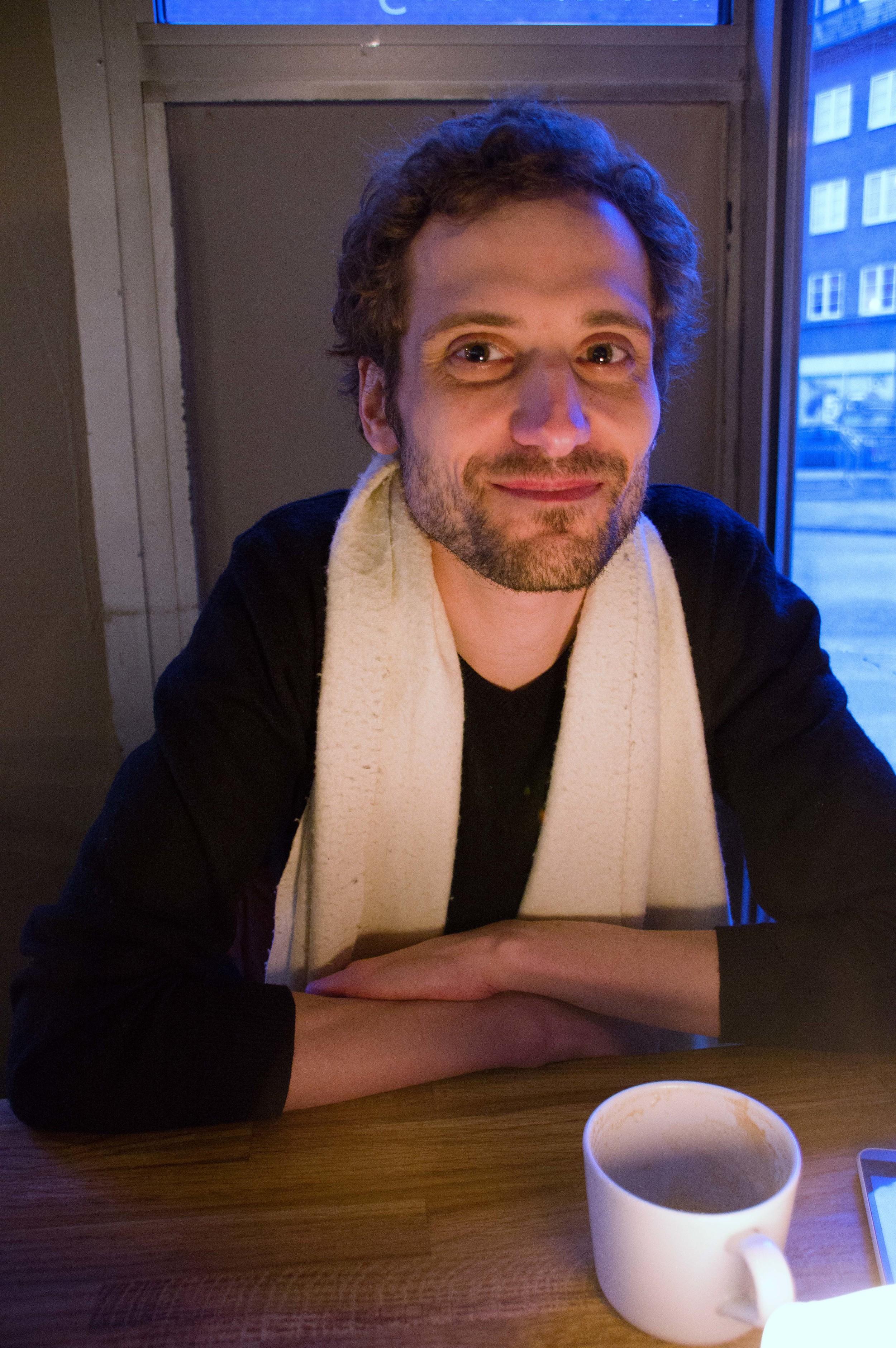 Chef Gouttebel lager fransk gourmetmat på kundens kjøkken