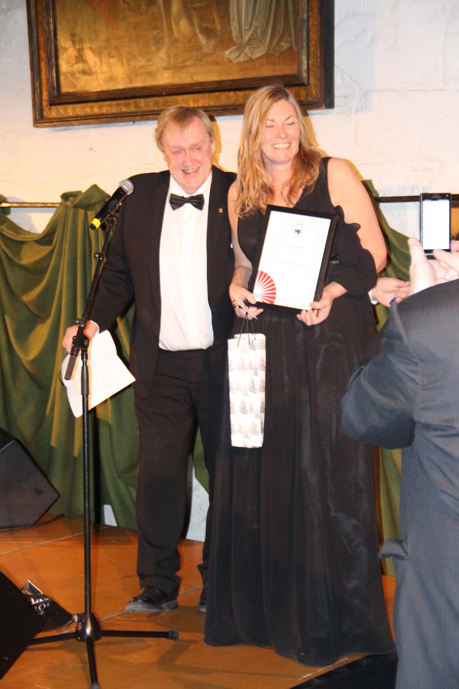 Årets medlem ble Anne Lise Sørensen fra Patricias i Bardu. Et av våre mest aktive, og lojale medlemmer.