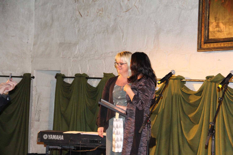 Årets leverandør over grossist, ble Aud Elise Skreden fra Marexim.Aud stiller alltid opp for oss, og for kundene.