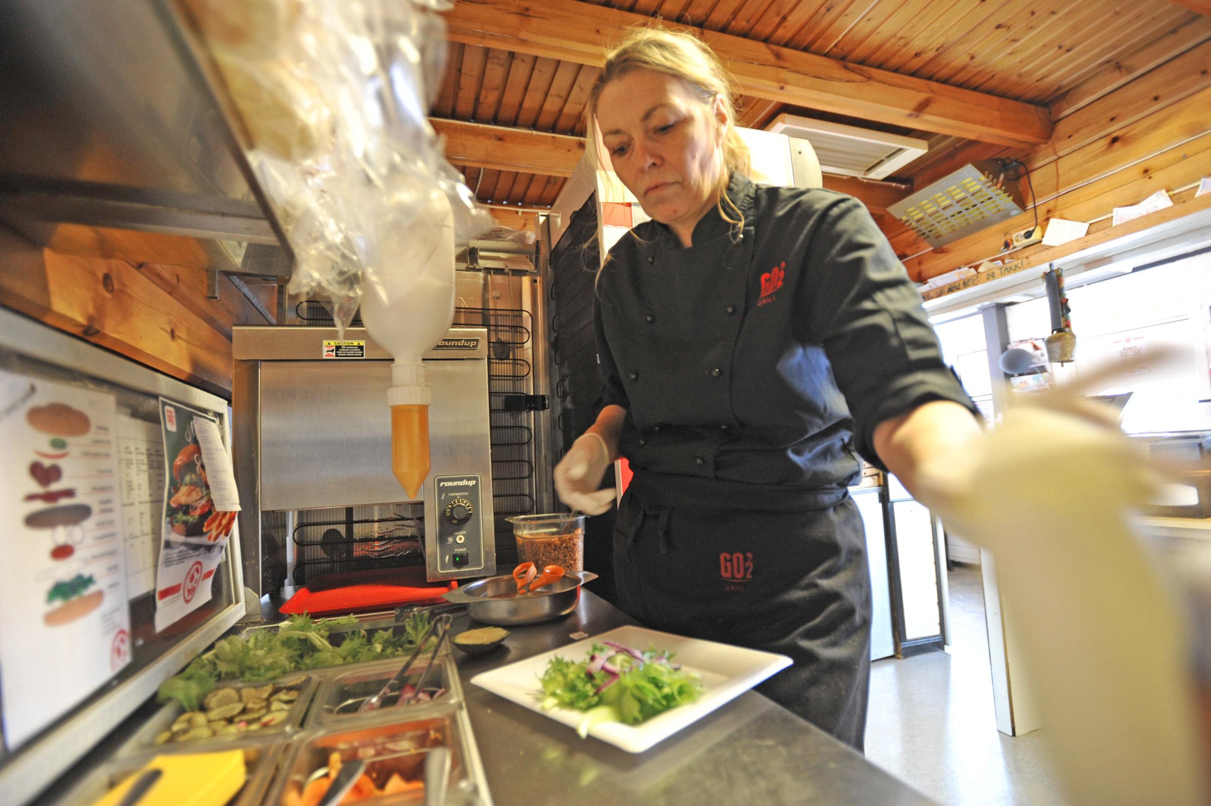 FERSKE RÅVARER: Ferske og kortreise råvarer er én av grunnene til at Patricias er Norges sunneste gatekjøkken.