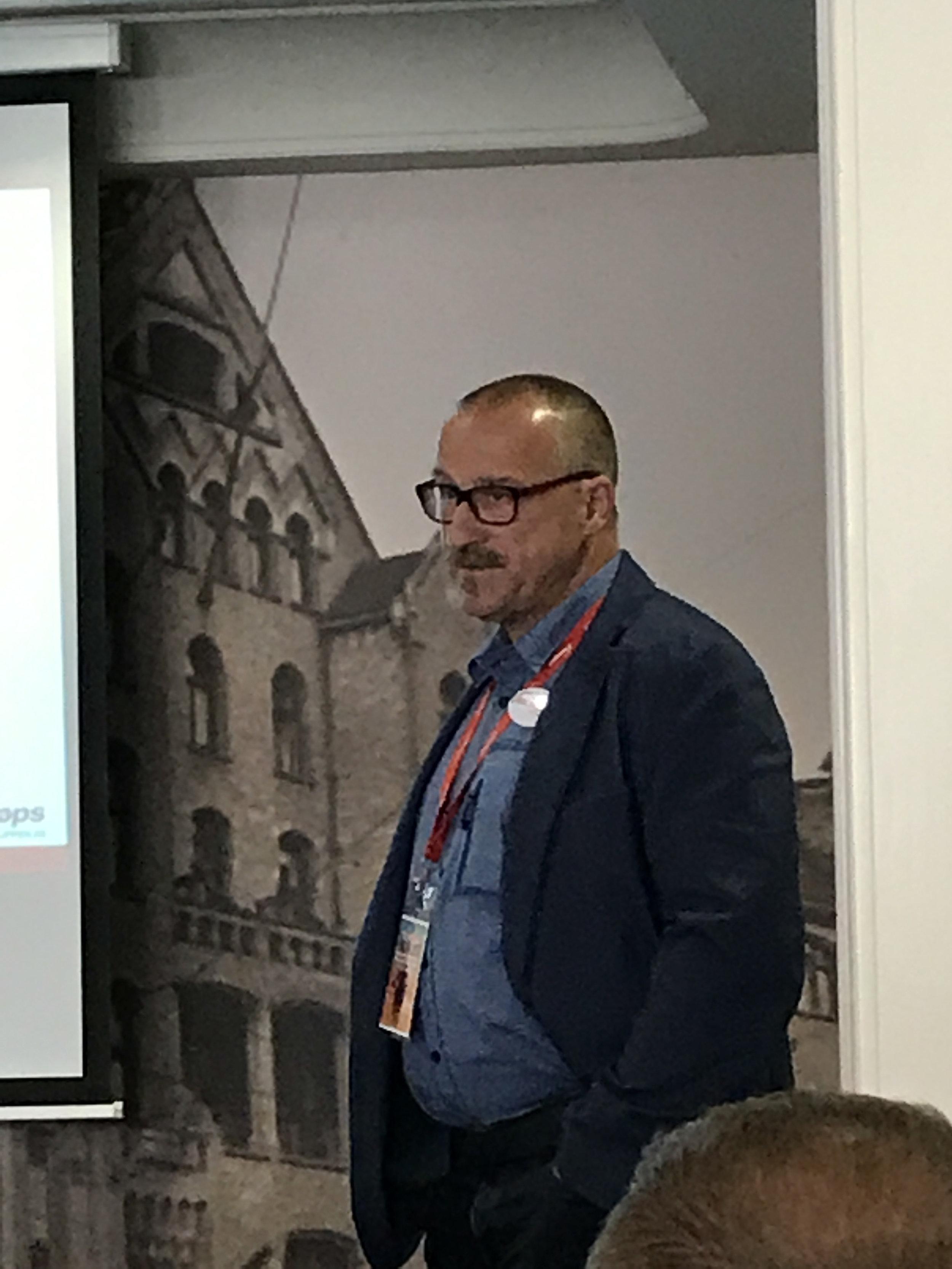 Jörg med info om Samkjøpsgruppen