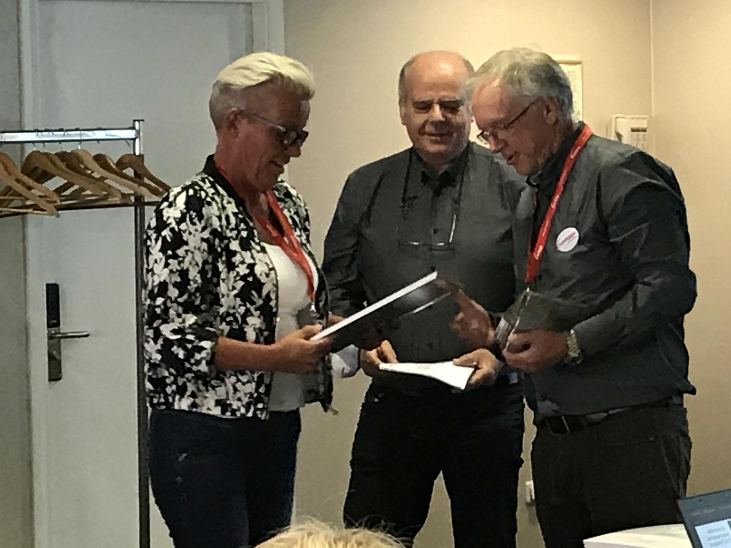 Kathrin Hansen, og Bjørns gatekjøkken nytt medlem i Samkjøpsgruppen og profilert som GO2 grill.