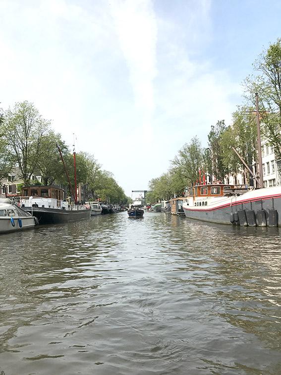 Sightseeing og lunsj på kanalbåt