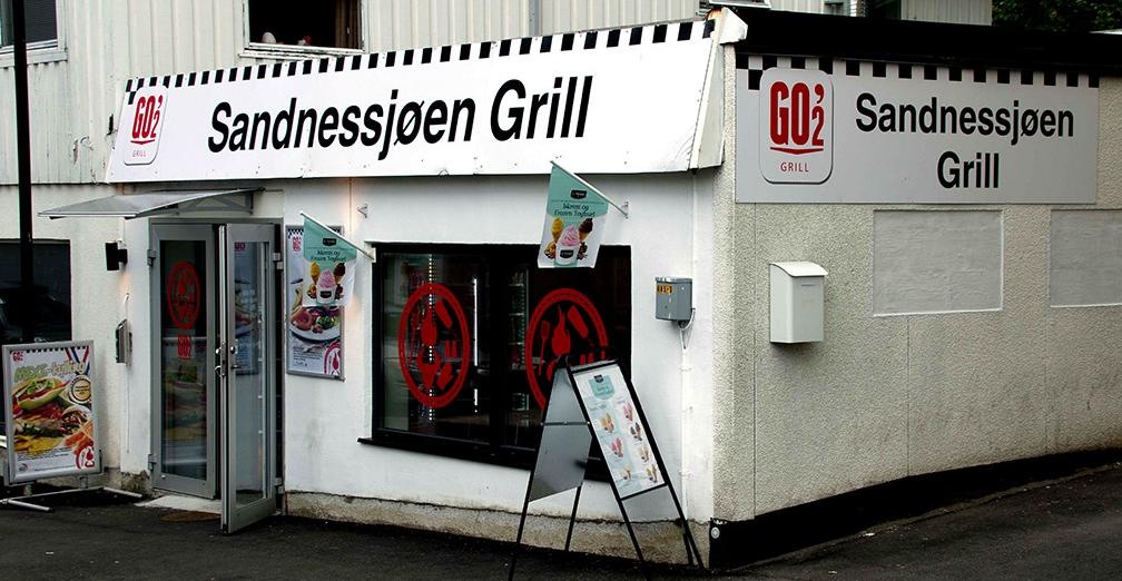 Sandnessjøen Grill er GO'2 Grill-stedet i sentrum.