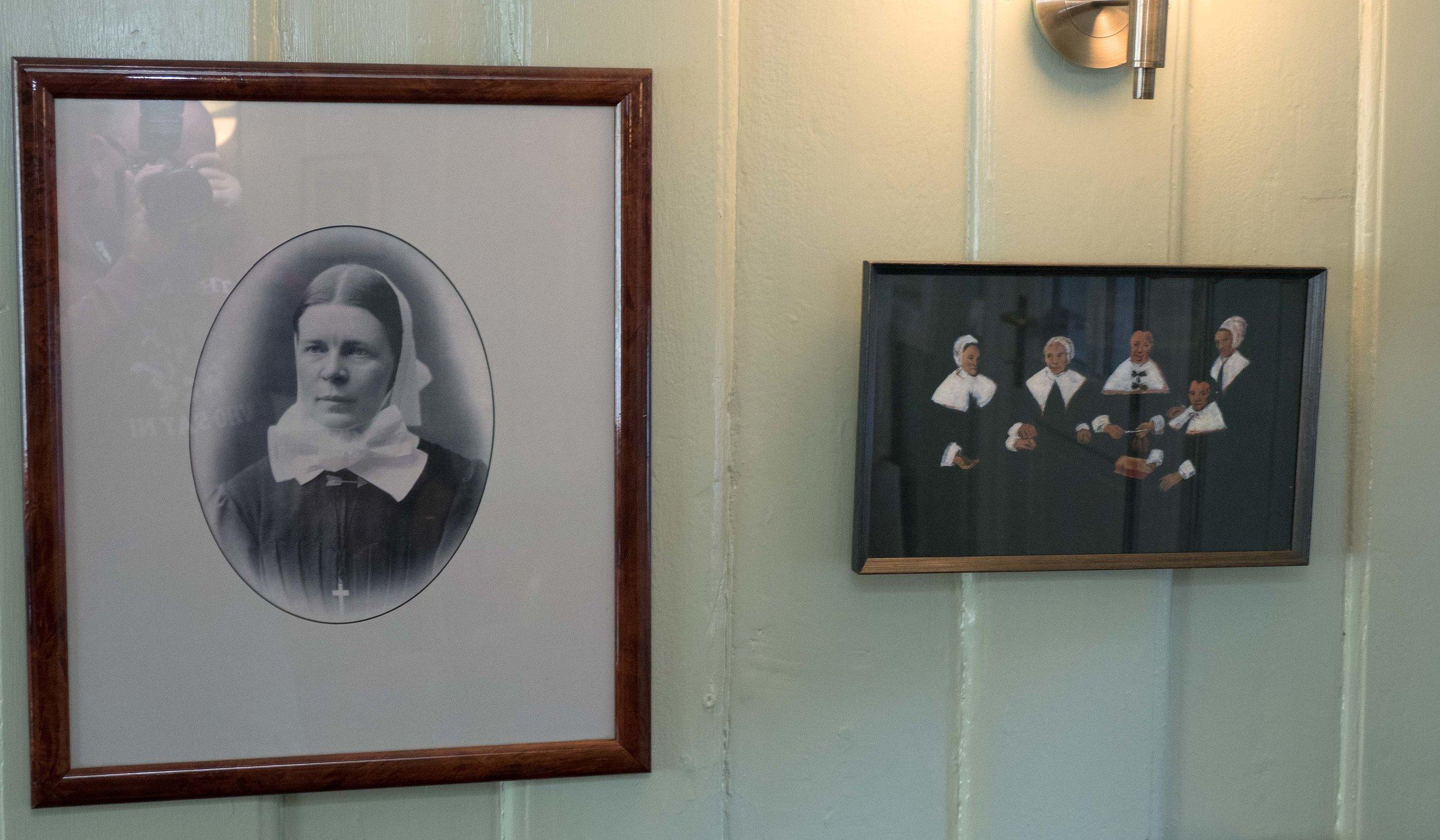 Cathinka Guldberg startet Norges første sykepleierutdanning på Asylet for 150 år siden.