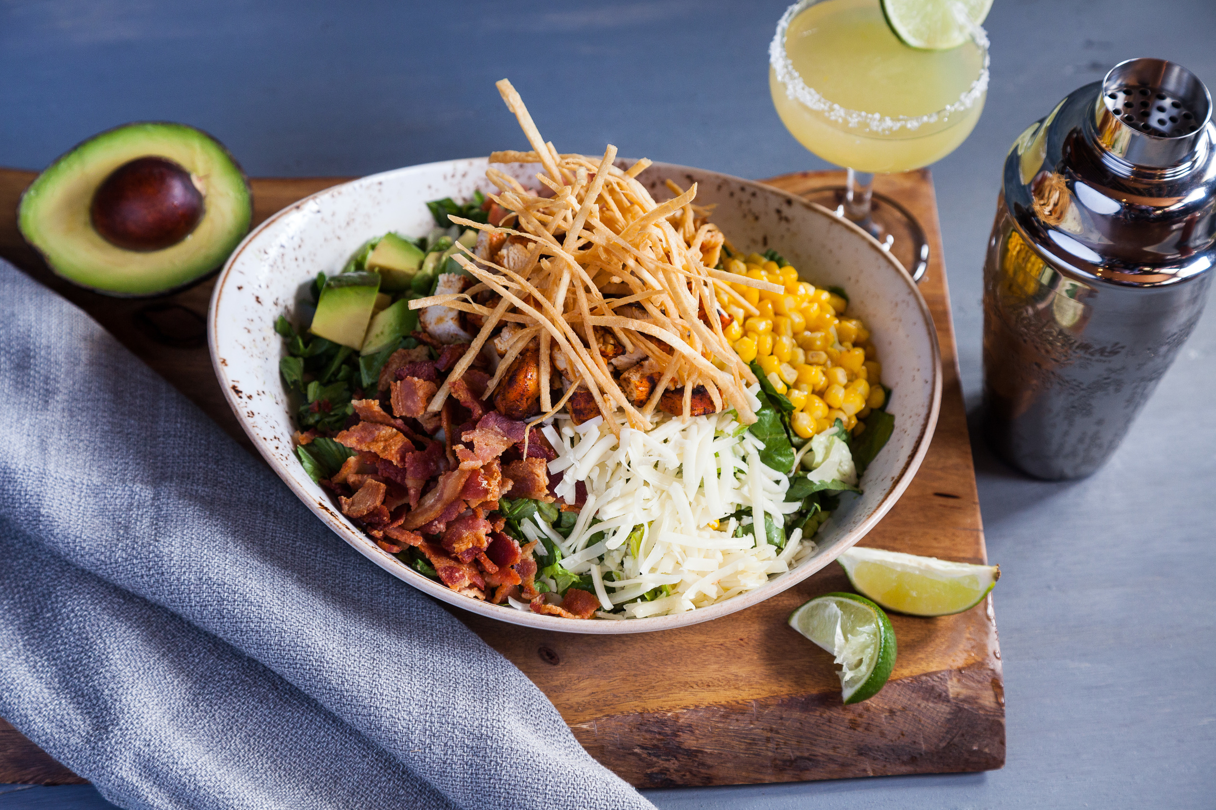 Mexican Chicken Chopped Salad