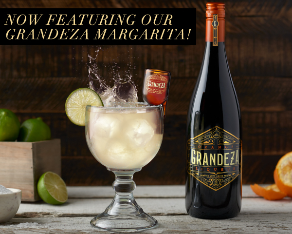 Moctezuma's very own Grandeza Margarita made with Grandeza Premium  Orange Liqueur .