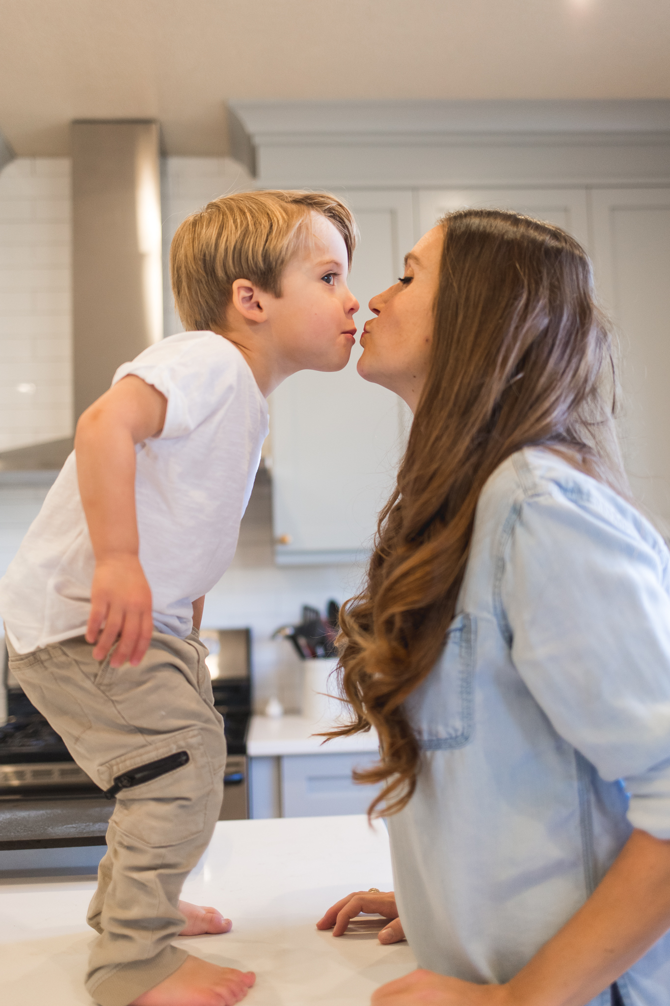 In-home infant and lifestyle session {Utah family and infant photographer}