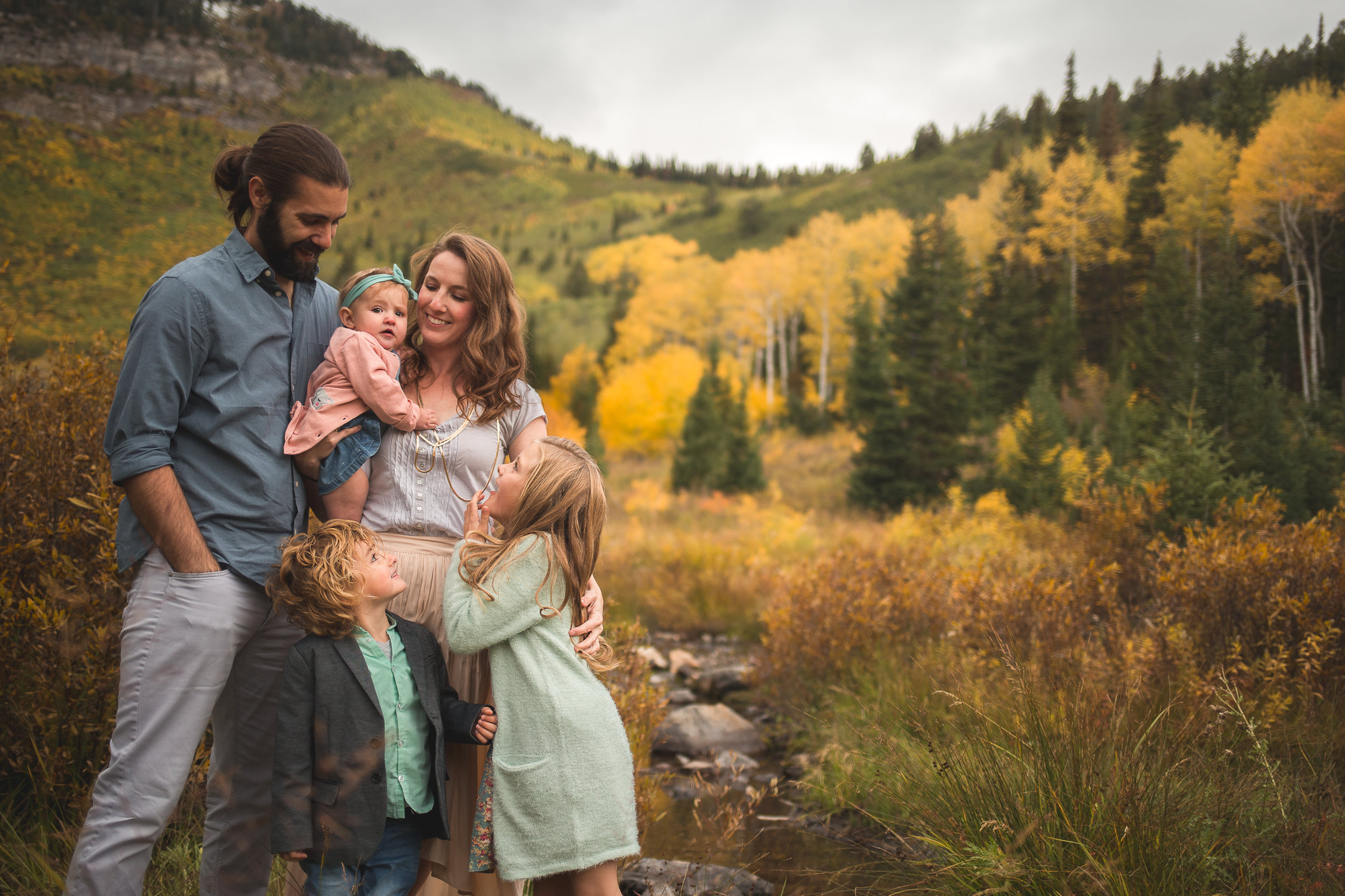 Mountain lifestyle portraits ~ American Fork canyon {Utah family photographer}