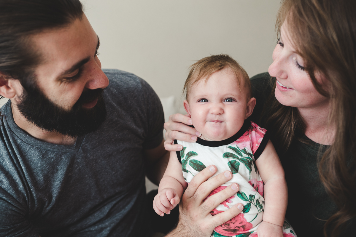 In-home lifestyle family session {American Fork UT lifestyle photographer}