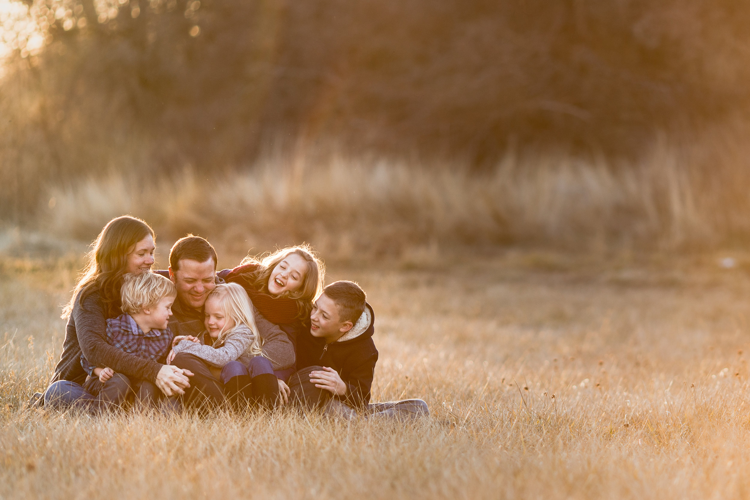Golden Hour Family Portraits {Highland UT lifestyle photographer}