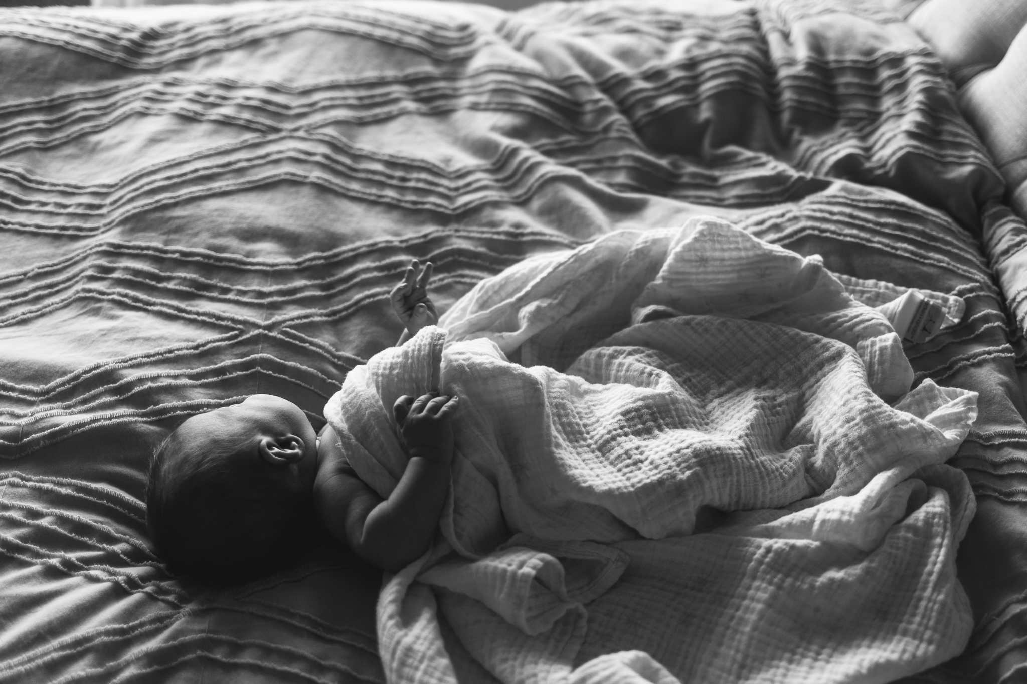 In-home infant session {Utah lifestyle baby photographer}