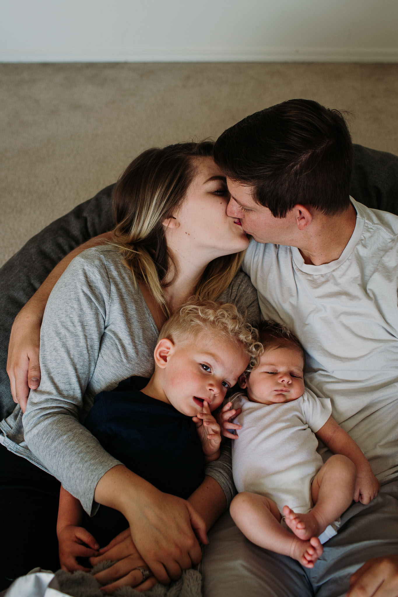 In-home baby session ~ newborn family session {Utah lifestyle photographer}