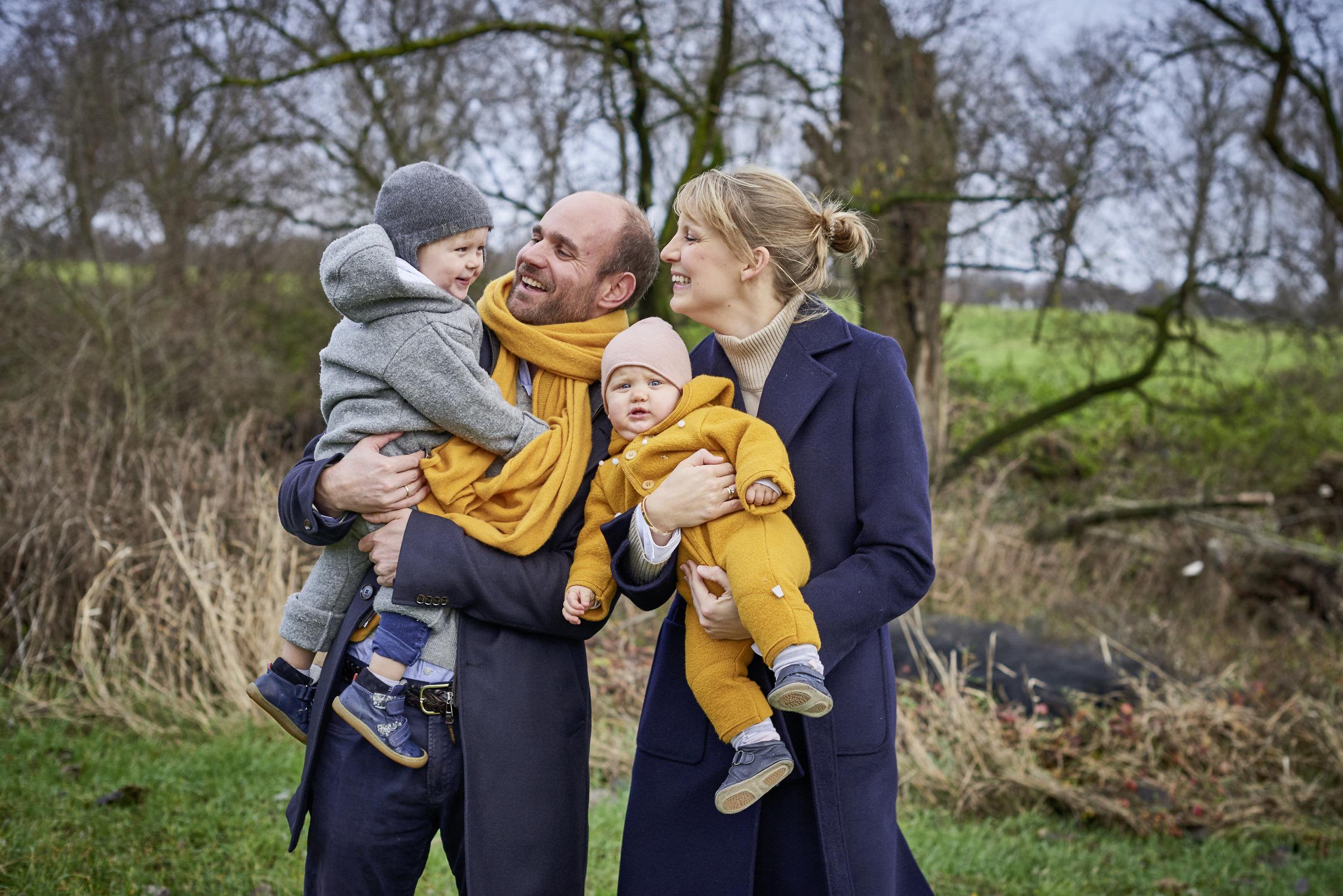 Familienbilder Outdoor