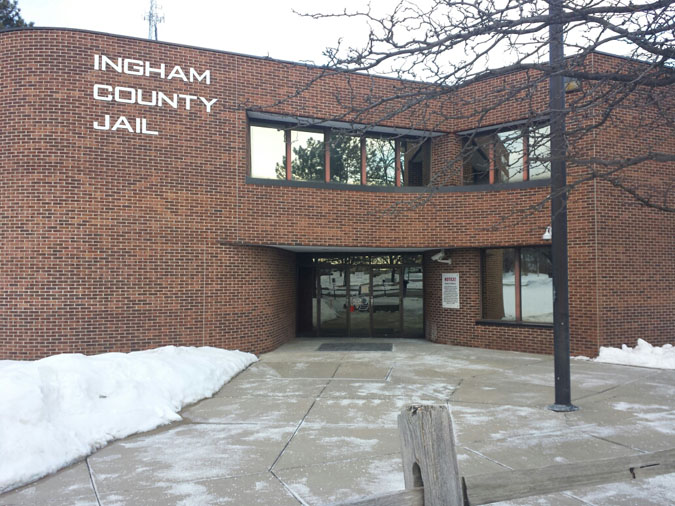 Seventy percent (70%) of inmates in Ingham County, located in Mason, MI, come from the Greater Lansing area.