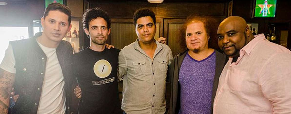 Leoni Torres, Claudio Pairot, Yeandro Tamayo, Kelvis Ochoa, Alexander Abreu (from left to right).