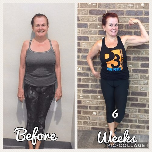 Janis said after the challenge she has more energy, feels stronger, and noticed her clothes fit looser! She is more conscious about what food choices she makes and actually eats more frequently than she used to!      *Results may vary person to person