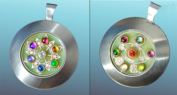 Rainbow Heart Companion : 14 Gems