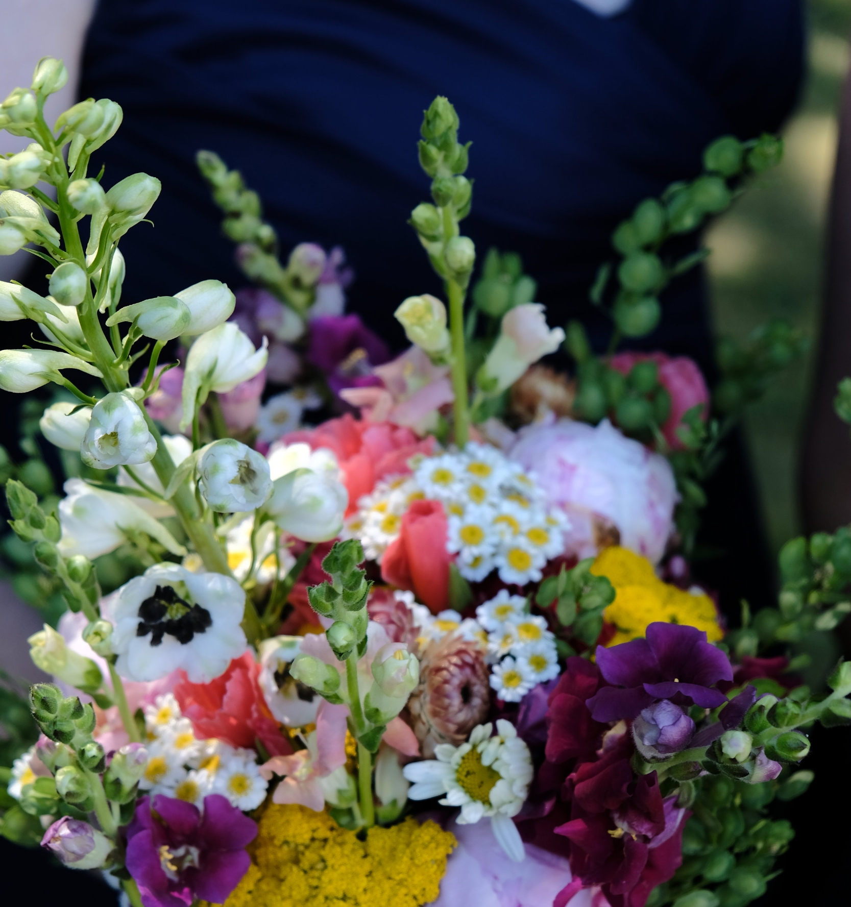 farmer florist bridesmaid bouquet