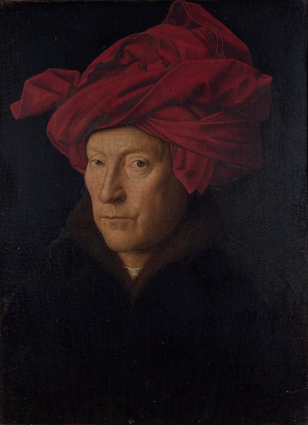 Portrait of a Man, Jan van Eyck, 1433