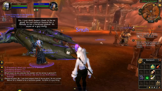 image from http://creativetimereports.org/2014/11/20/angela-washko-feminism-world-of-warcraft-gamergate/