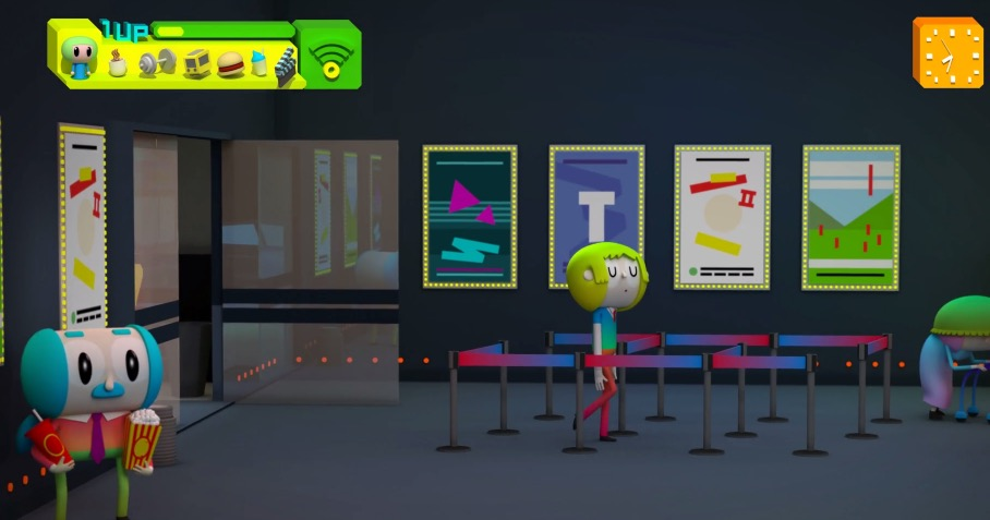 Image Courtesy of the Artist Ruben F. Stremiz.Consumer Game: The Movie:(Photo source , https://vimeo.com/53502267 (2013))