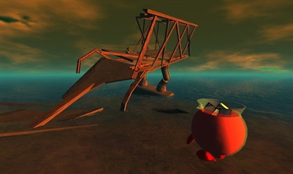 Jon Rafman,   Kool-Aid Man in Second Life    Image courtesy of artist
