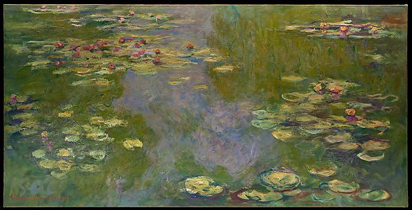 Monet' Water Lilies, via Met Art