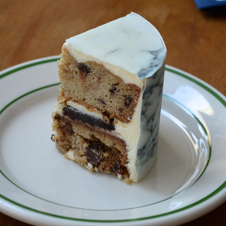 Rookie Cookie Cake with  Carrara Sheet