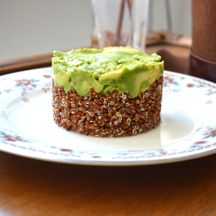 Red Quinoa & Avocado Salad
