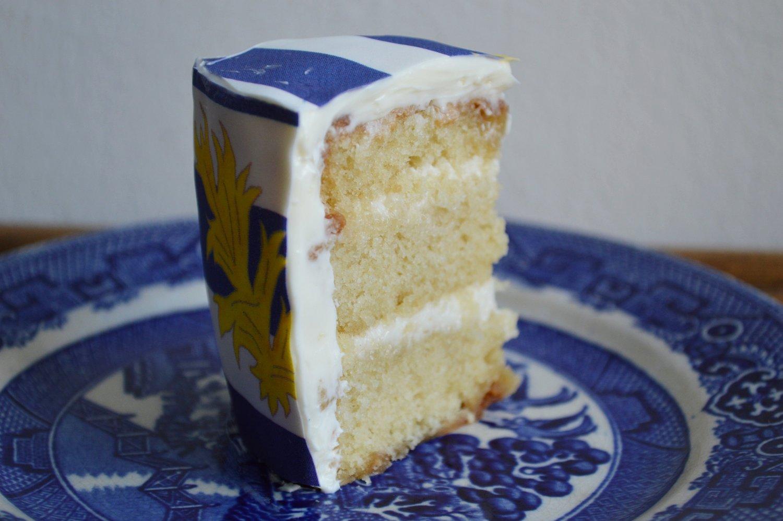 Caramel Cake with  St. Malo Chefanie Sheets