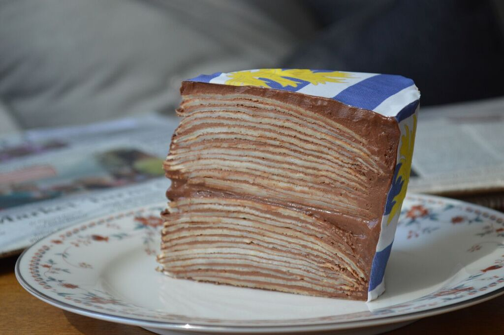 Crepes Cake with  St. Malo Chefanie Sheet.
