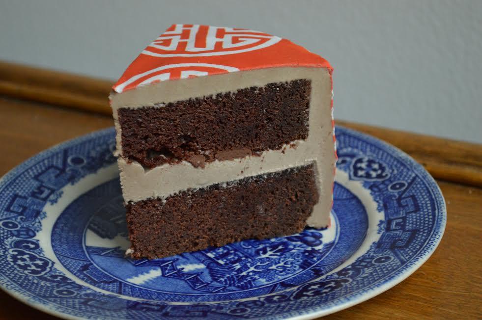 Espresso Mocha Chocolate Cake with  Beijing #ChefanieSheet