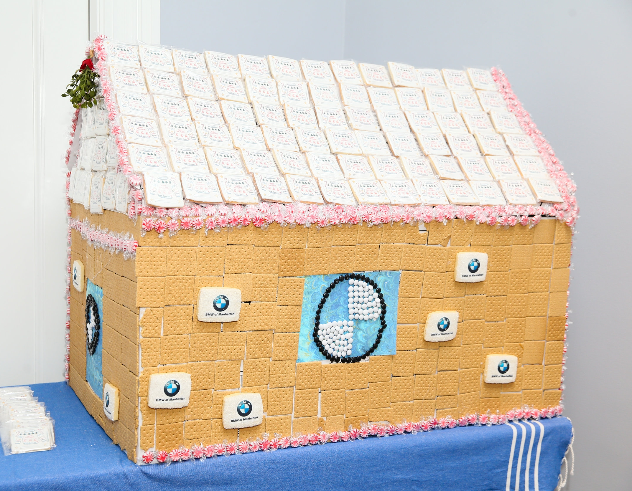 5 foot Gingerbread House. Photo credit: Noa Griffel for BFA