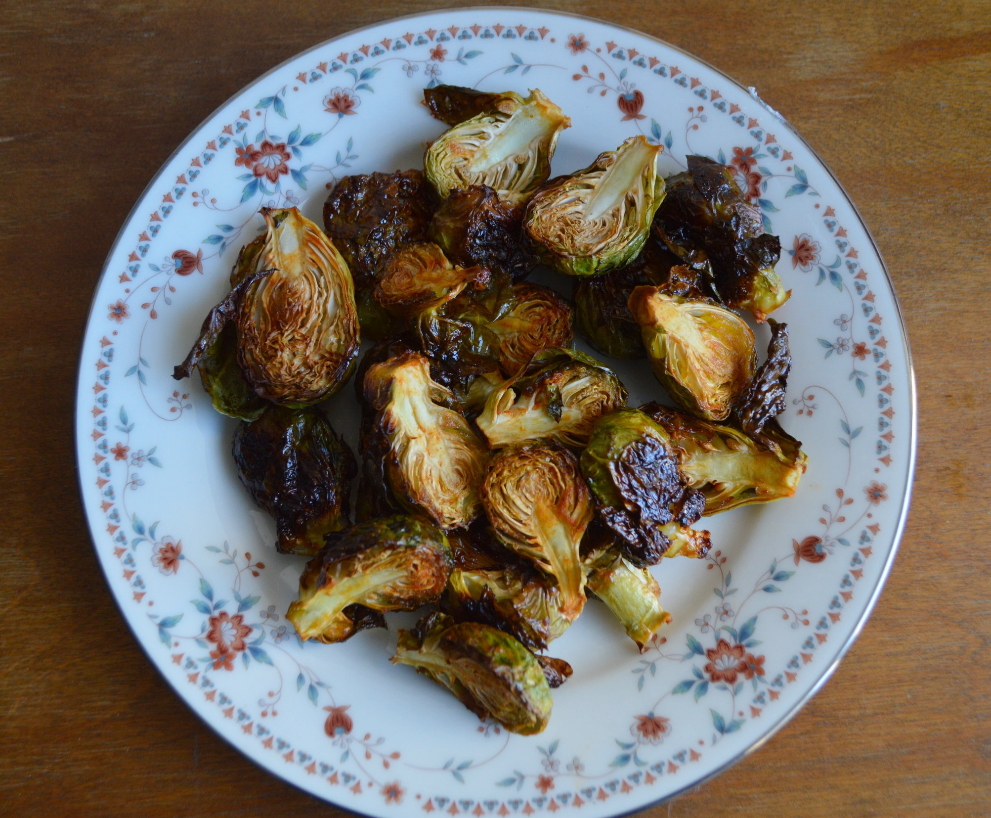 Honey-Sriracha Brussels Sprouts