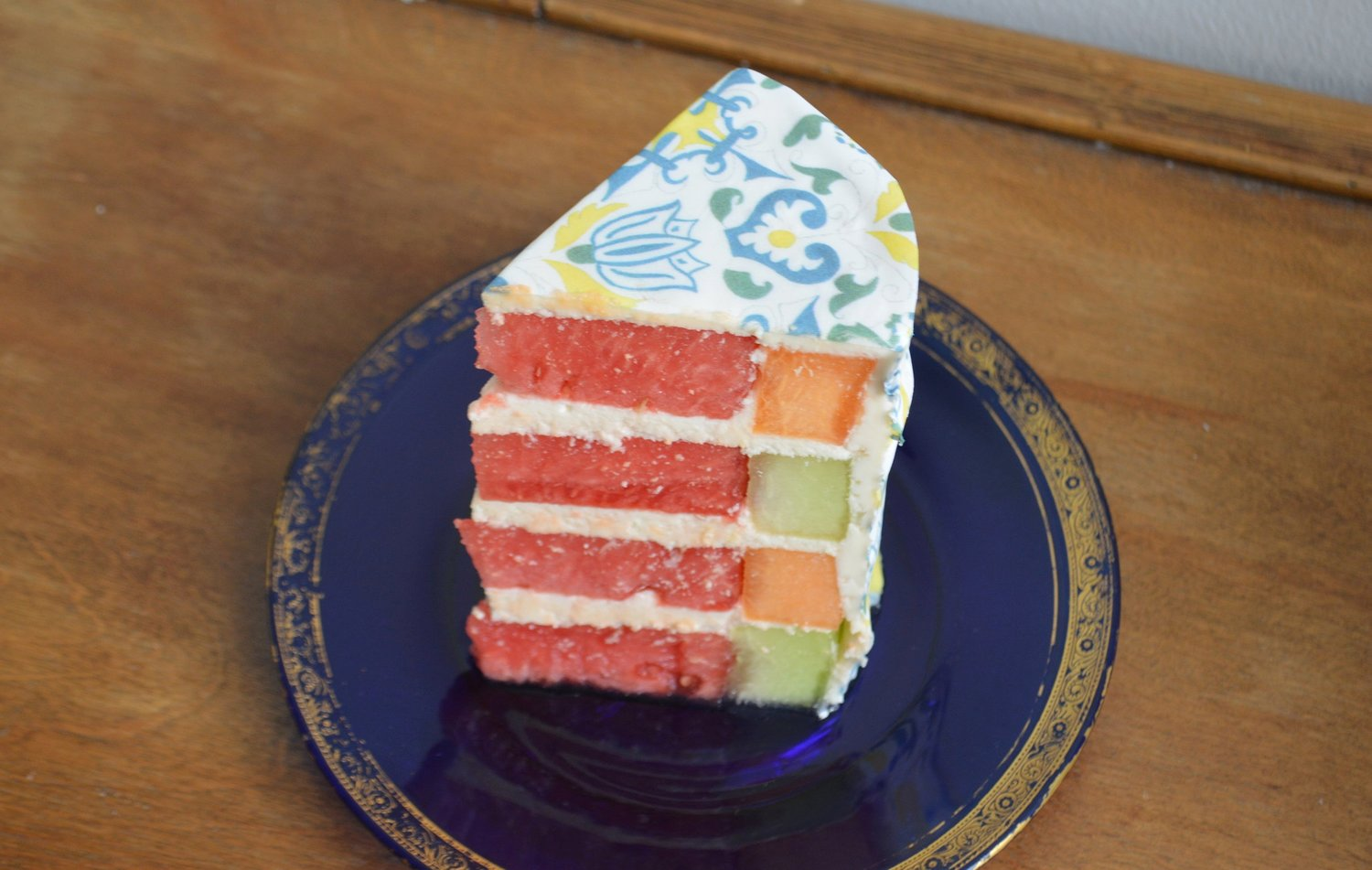 Melon Cake with Chefanie Sheets