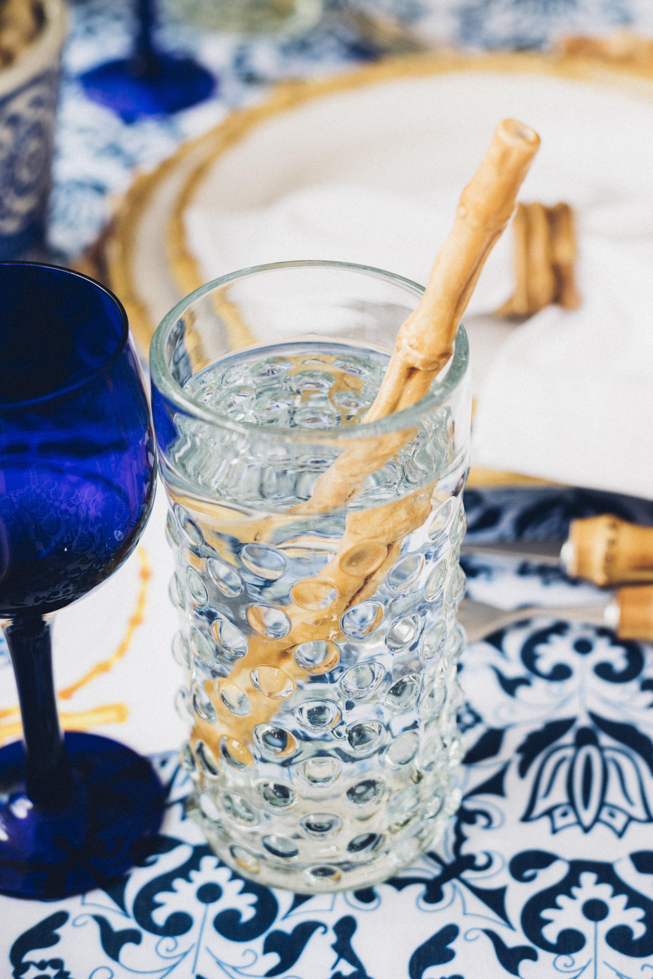 Chefanie  Ceramic Bamboo Straw