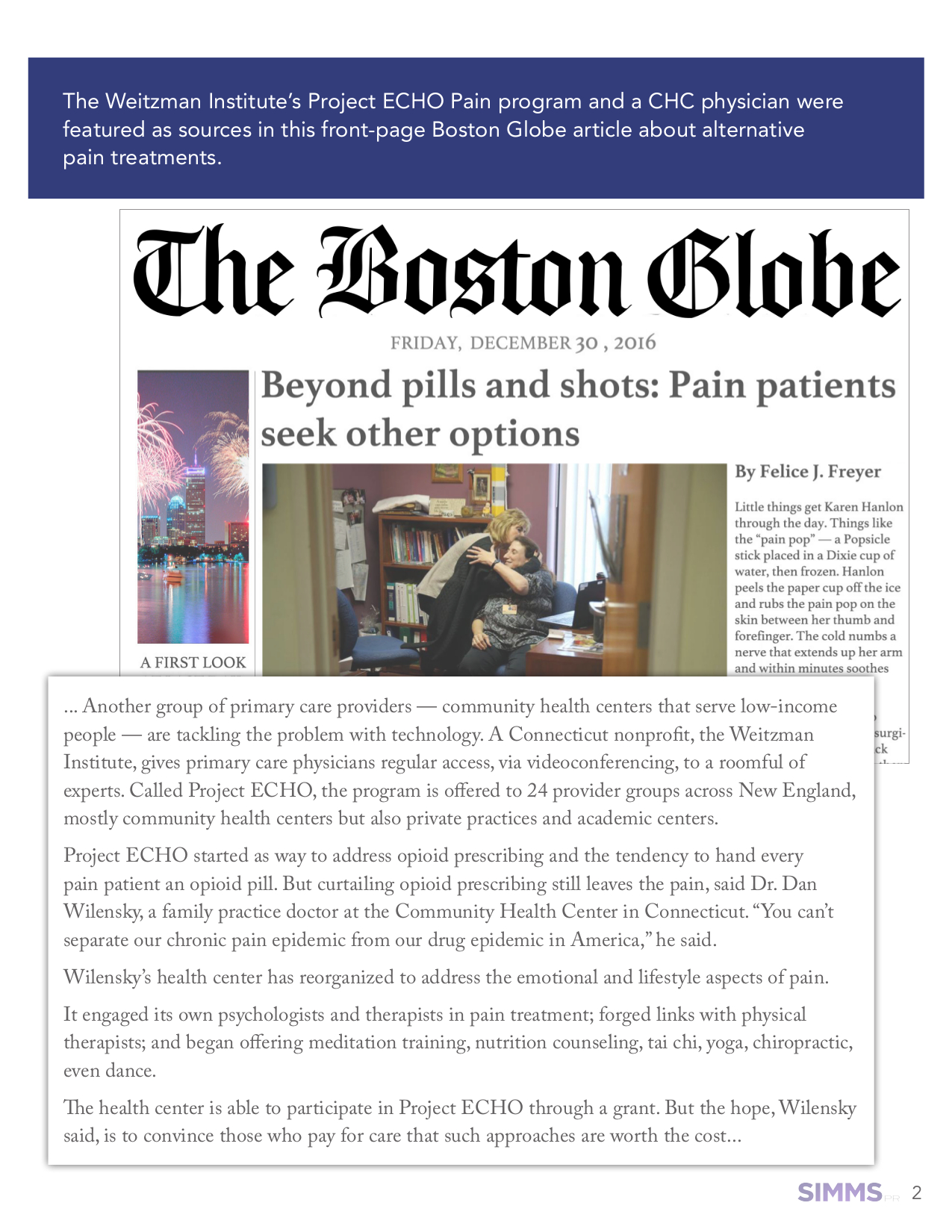 Read this article on the  Boston Globe website .