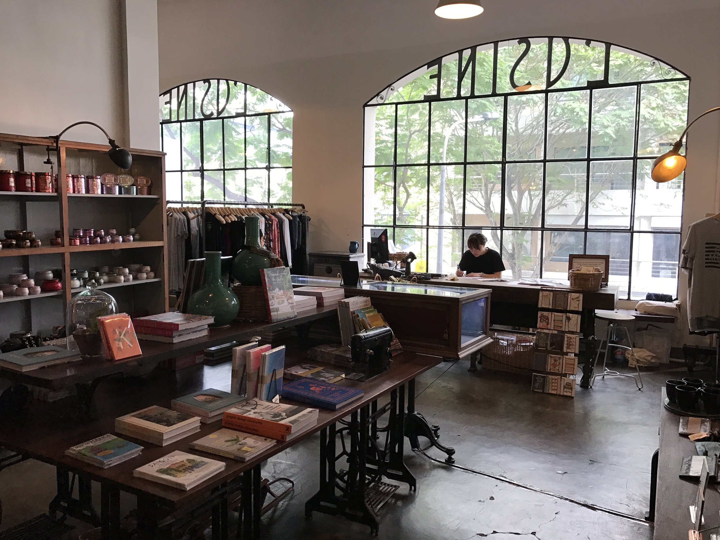 You'll want to buy everything at L'Usine's s