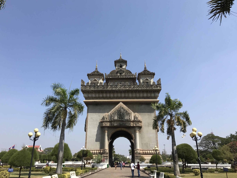 A view of Patuxai