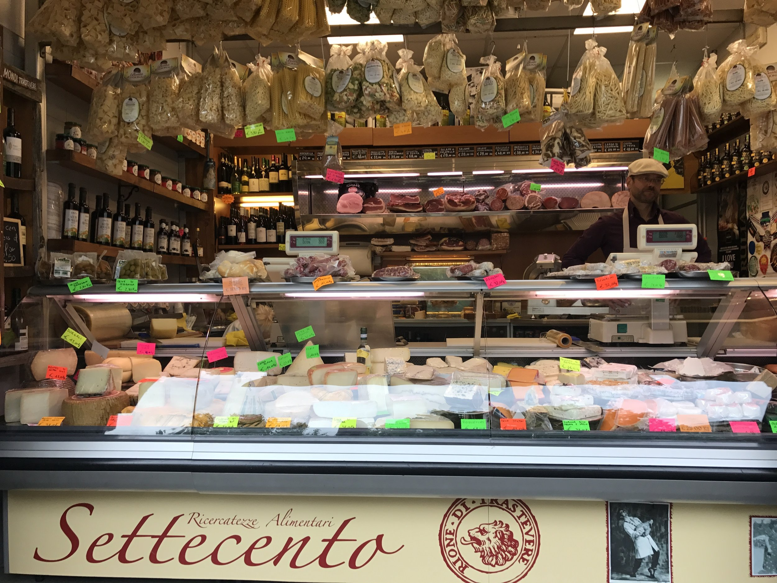 Alimentari are the best places to grab fresh food