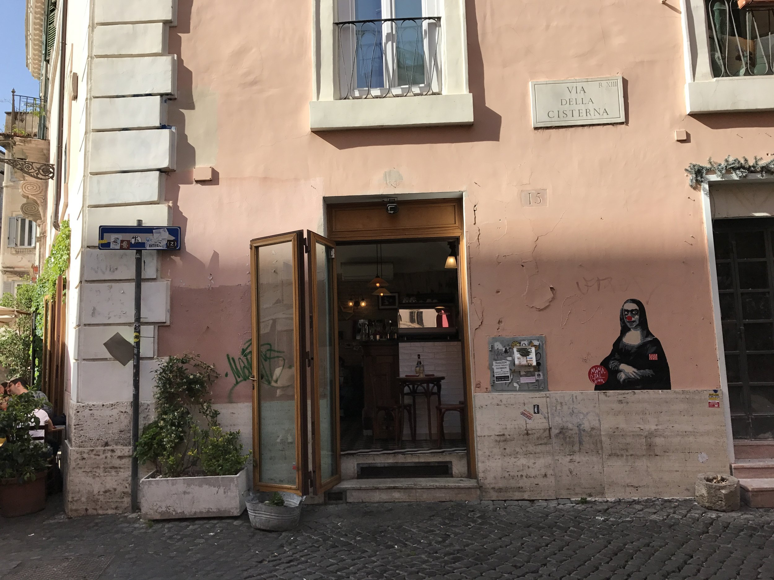 Wander around the Trastevere area in Rome and you'll find many great places to eat (read: stuff your face)