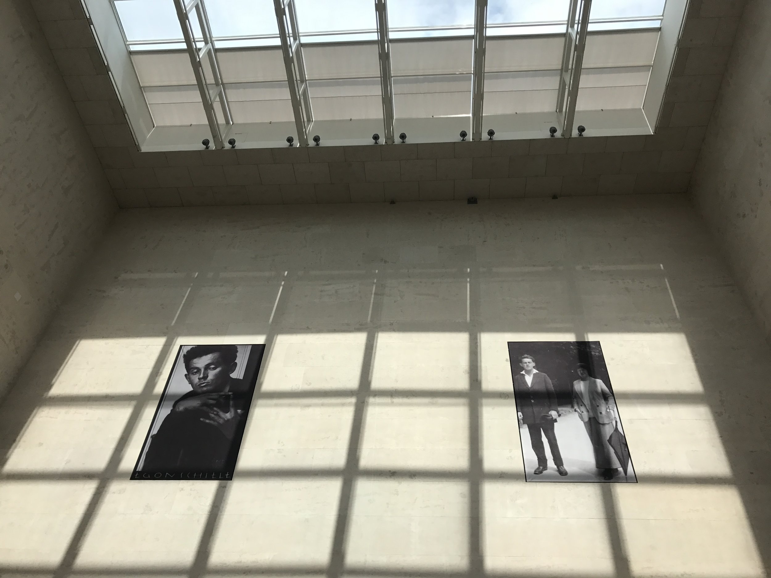 Shadows and photographs of Egon Schiele at the Leopold Museum