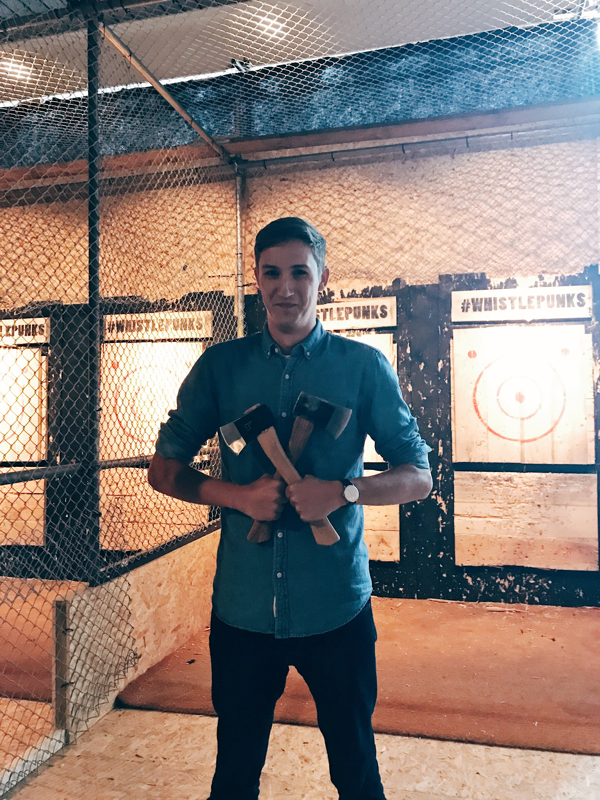 The Axe Throwing Champion