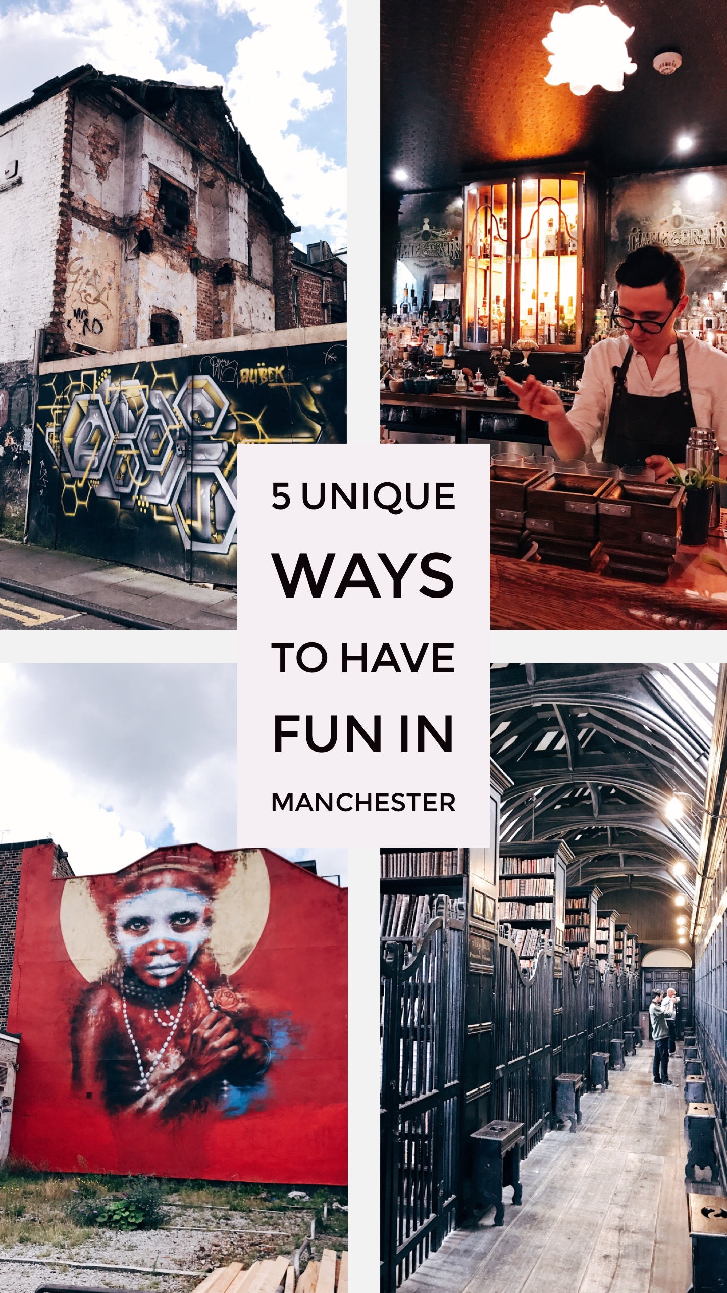 Image: 5 Unique Ways to Have Fun in Manchester - Pinterest