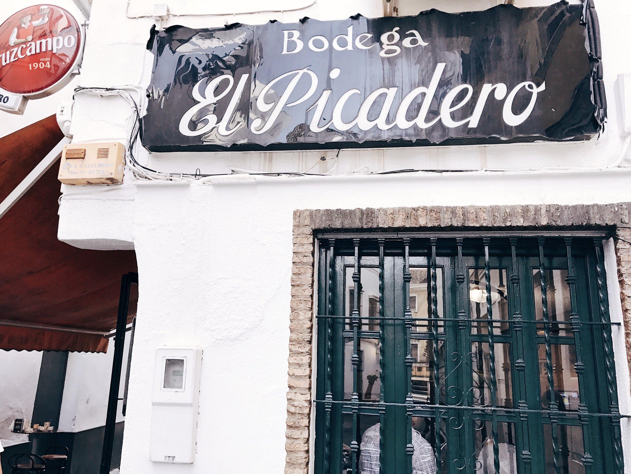 Image: Devouring Seville - El Picadero