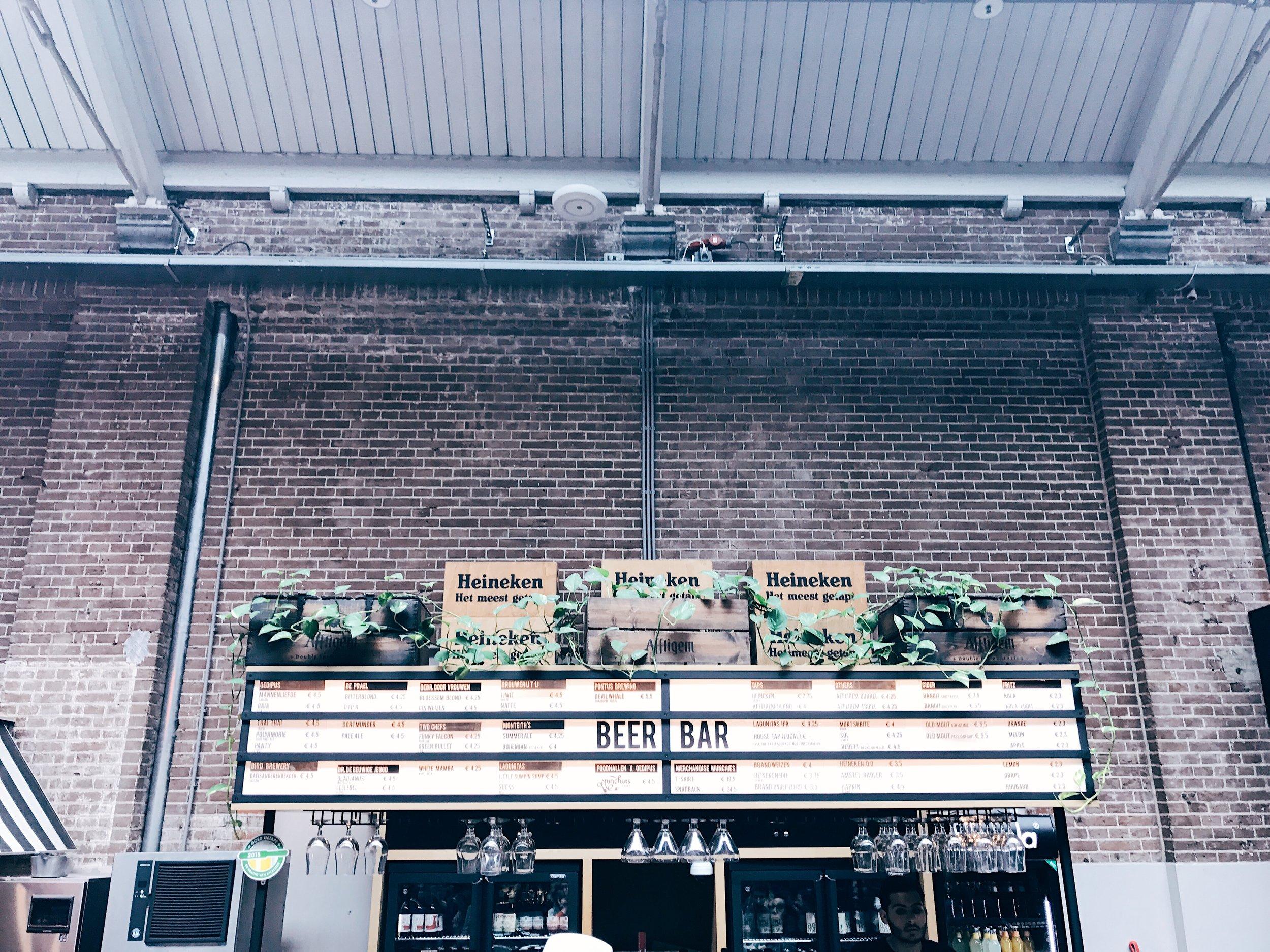 Beer Bar at Foodhallen