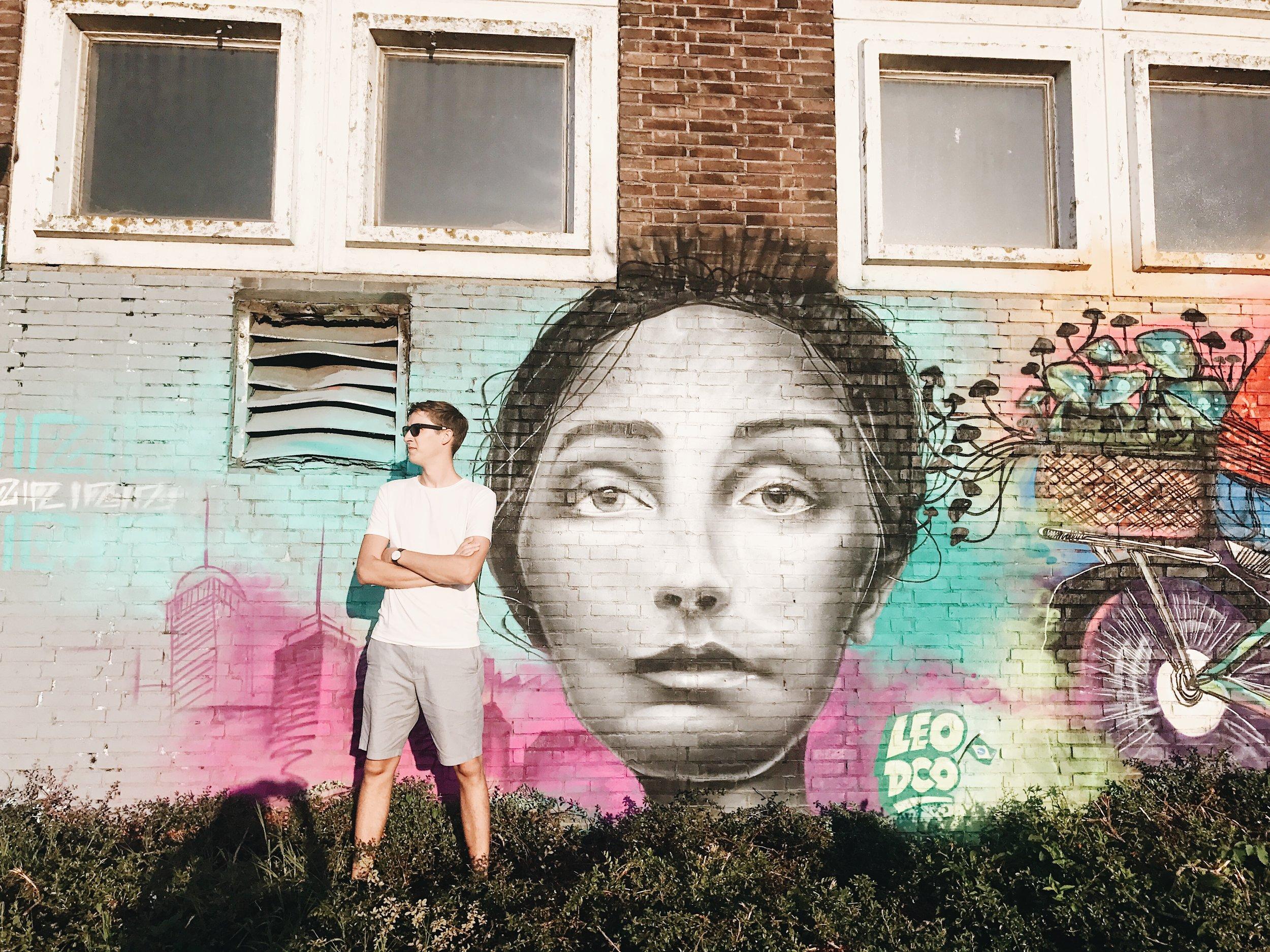 Street art around NDSM Werf
