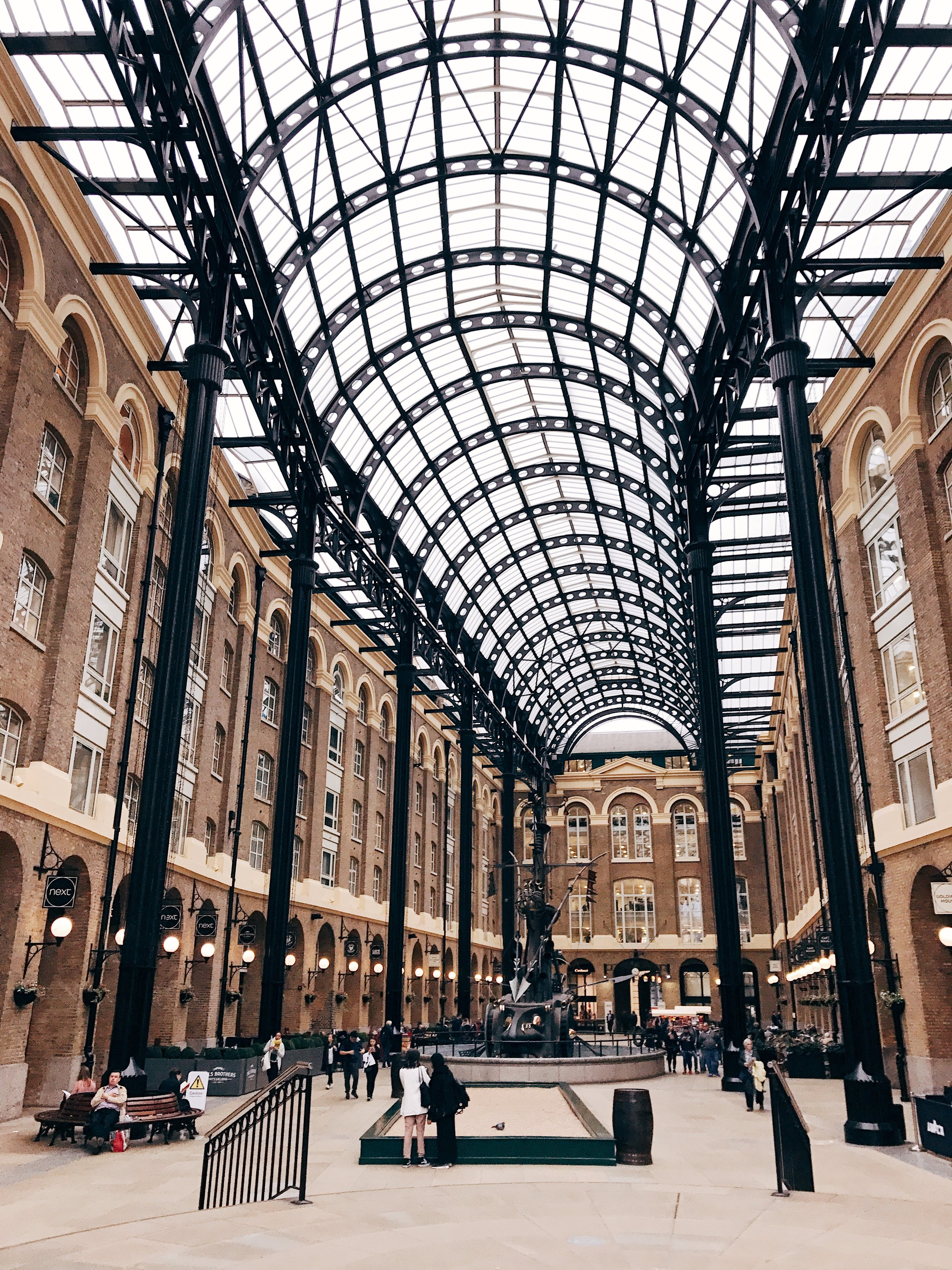 Image: Reasons to Visit London - Many Images to Inspire You to Visit London - Hay's Galleria